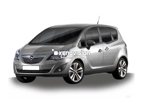 Kit Xenon Opel Meriva B - 2010 al 2013 - Xenon 35W e DRL Led - 6000k