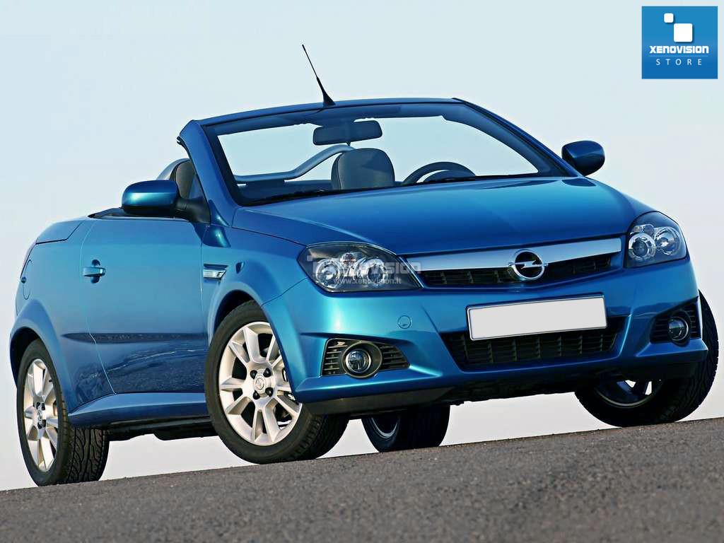 Kit Xenon Opel Tigra Twin Top - 2003 al 2009 - Xenon 35W e Led - 6000k