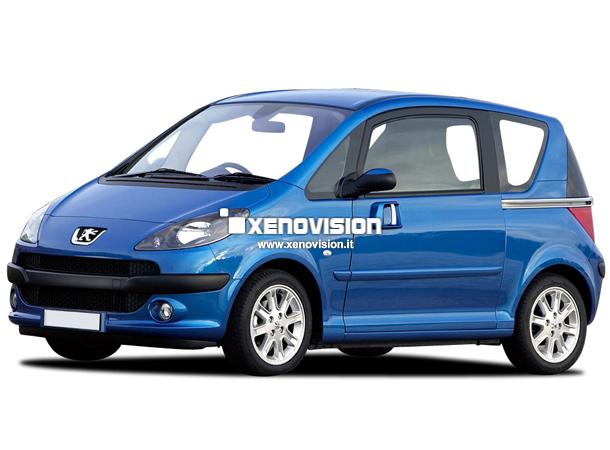 Kit Xenon Peugeot 1007 - 2005 in poi - BiXenon 35W - 6000k