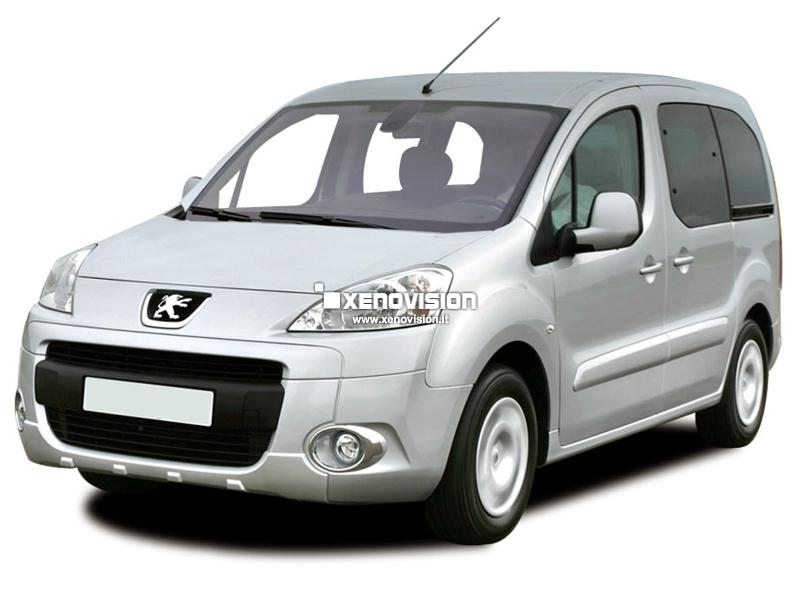 Kit Xenon Peugeot Partner - dal 2008 in poi - Bixenon 35W e Led - 6000k