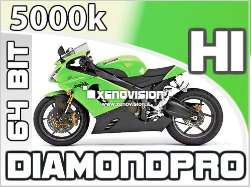 Kit Xenon Slim Moto H1 5000k 35W 64Bit Qualita Xenovision Bianco Lunare