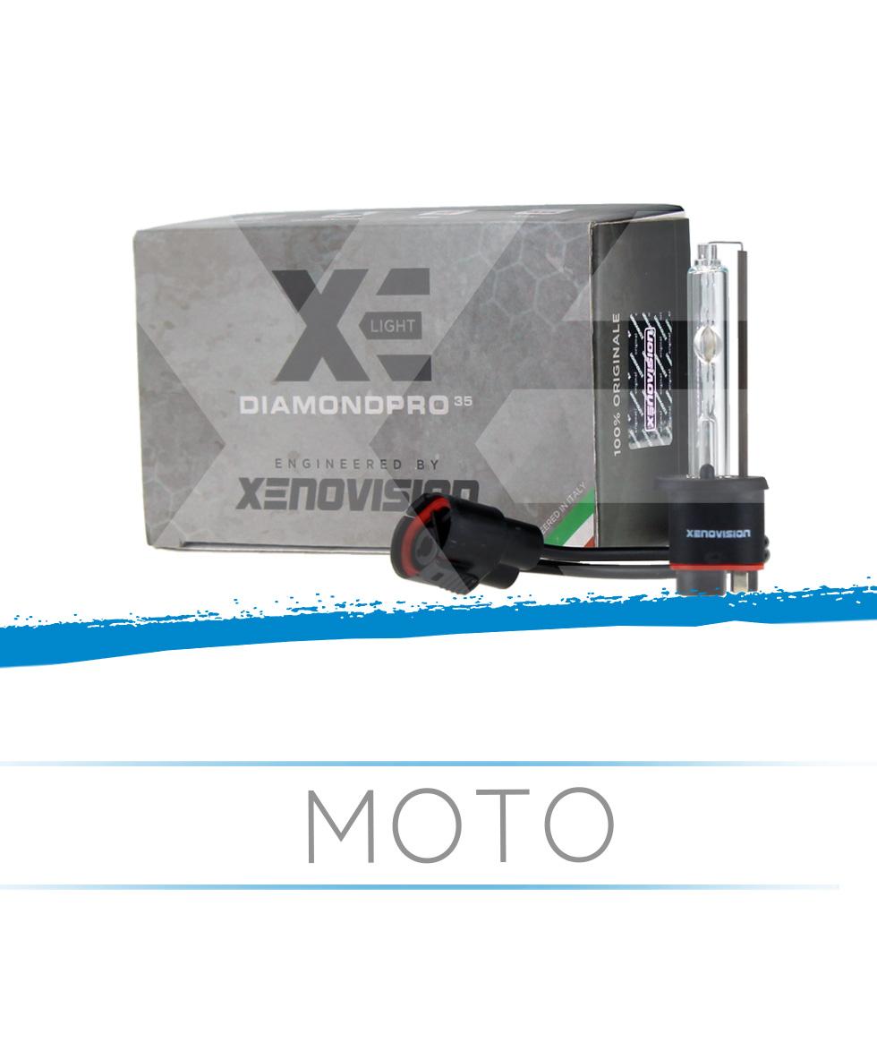 Kit Xenon Slim Moto H11-R 35W 64Bit Xenovision Bianco Lunare 6000k
