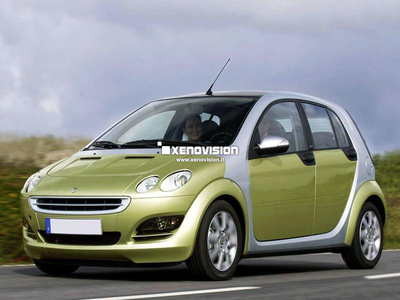 Kit Xenon Smart ForFour - 2004 a 2006 - Xenon 35W e Luci Posizione - 6000k