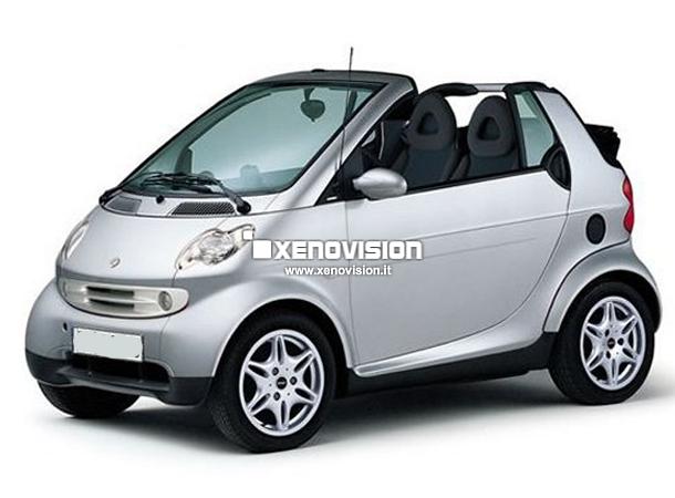 Kit Xenon Smart ForTwo 450 - 2001 a 2007 - Xenon 35W e Posizione - 6000k