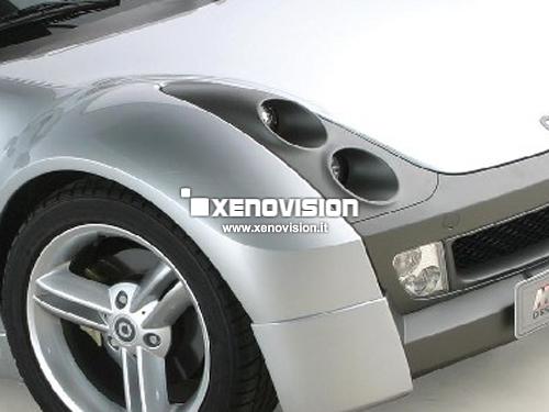 Kit Xenon Smart Roadster 452 - 2003 in poi - Xenon 35W e Posizione - 5000k
