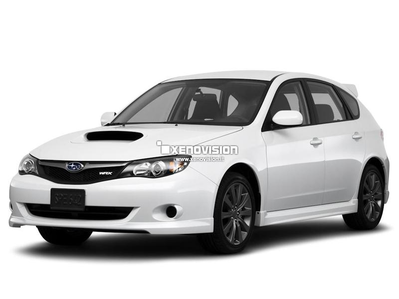 Kit Xenon Subaru Impreza - 2007 in poi - Xenon 35W e Led Posizione - 6100k