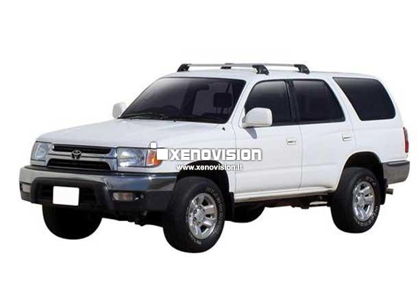 Kit Xenon Toyota 4Runner - 1995 a 2002 - BiXenon 35W e Luci Posizione - 6000k