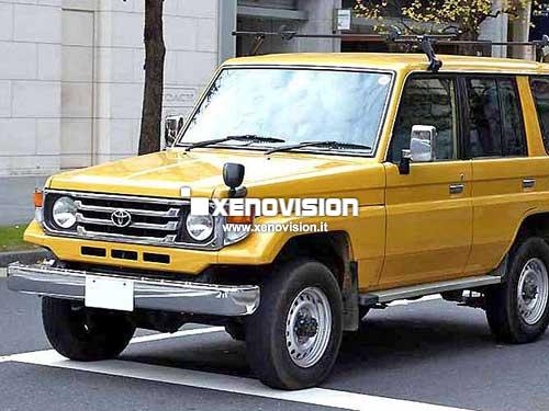 Kit Xenon Toyota Land Cruiser 90 80 70 J9 J8 J7 55W Bixenon e Led 6000k