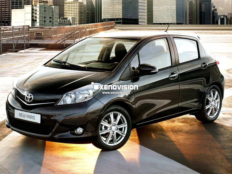 Kit Xenon Toyota Yaris - 2011 in poi - BiXenon 35W e Posizione - 6000k