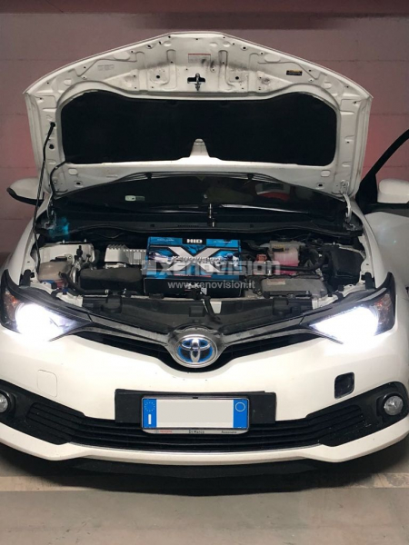 Kit Xenon Toyota Yaris e Hybrid - Lenticolare - 2013 in poi - 35W 6000k