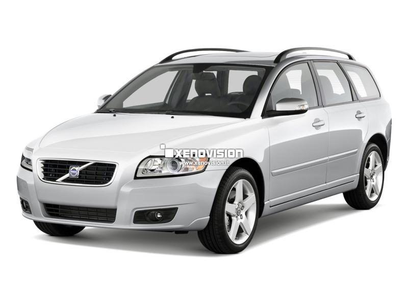Kit Xenon Volvo V50 - 2003 al 2012 - Xenon 35W e Led Posizioni- 6100k
