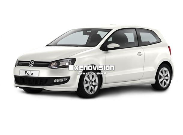 Kit Xenon VW Polo 6R - Bluemotion H4 - Bixenon 35W e Led - 6000k