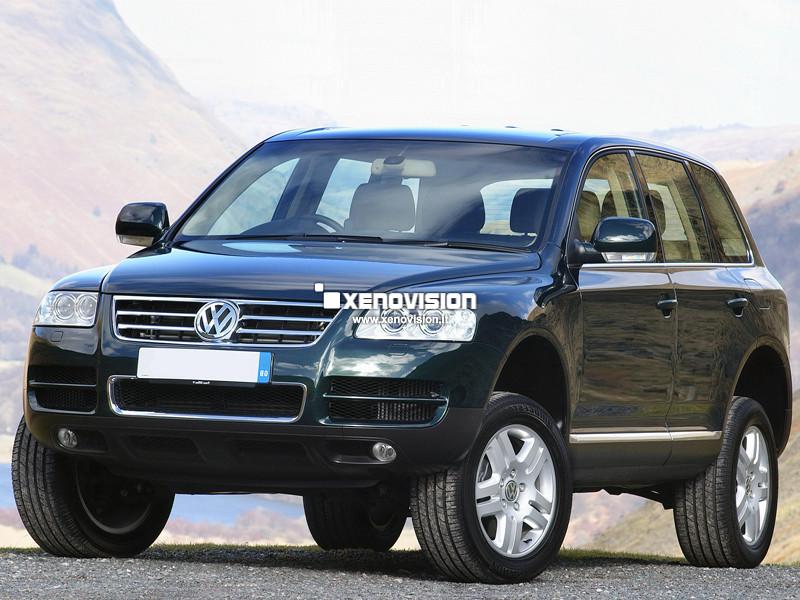 Kit Xenon VW Touareg - 2002 a 2006 - Xenon 35W e Led Posizione - 6000K