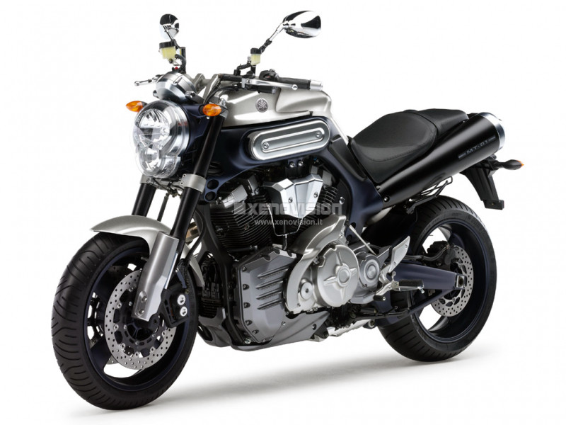 Kit Xenon Yamaha MT-01 - 2005 a 2012 - Anabb. + Abb. 35W 6000k