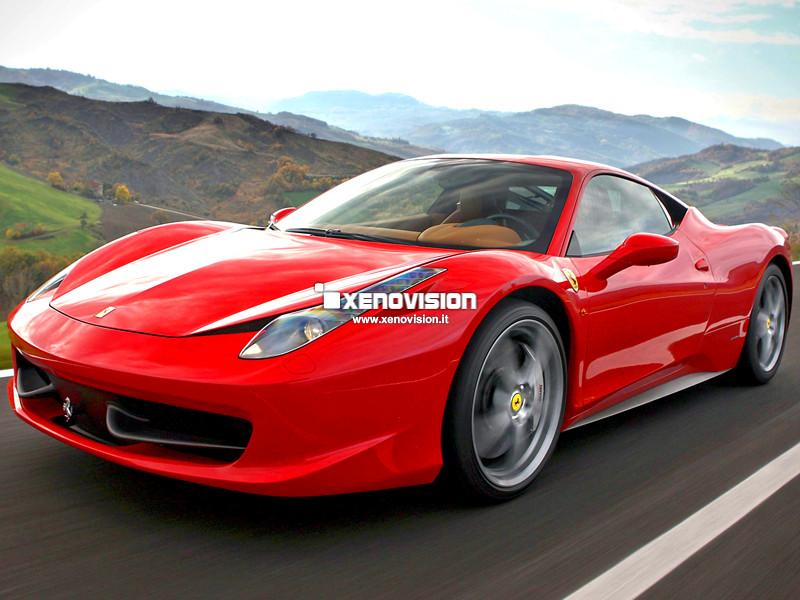 Lampade Xenon Ferrari 458 Italia - 2009 in poi - Xenon 35W - 6000k