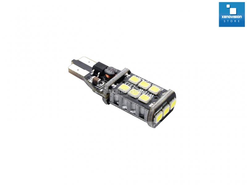 T15 (W16W) Led CREE™ Canbus - 800Lumen - Freccia