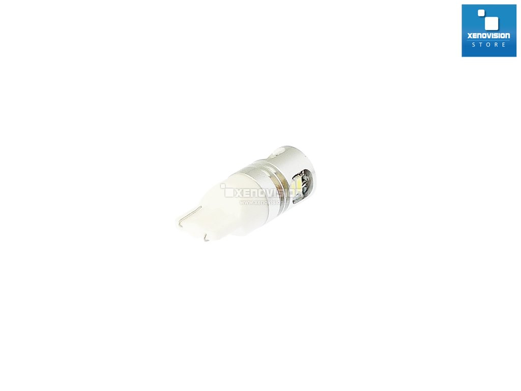 W5W Led Canbus - 10 Micro UltraLed - Bianco Lunare 6000k