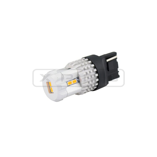 <p><strong>800 Lumen, Smart Polarity.</strong>&nbsp;Una lampada Led Ultraluminosa 7443 T20 (W21/5W) con illuminazione a 360 gradi, sviluppa 800Lumen di incredibile potenza. Qualit&agrave; Massima sul mercato. Perfetta per Luce Posizione/Stop Posteriore, <strong>3 volte pi&ugrave; luminosa</strong> dell'originale a incandescenza.&nbsp;Compatibile sia &nbsp;con auto Positivi Lato Corto che Positivi Lato Lungo.</p>